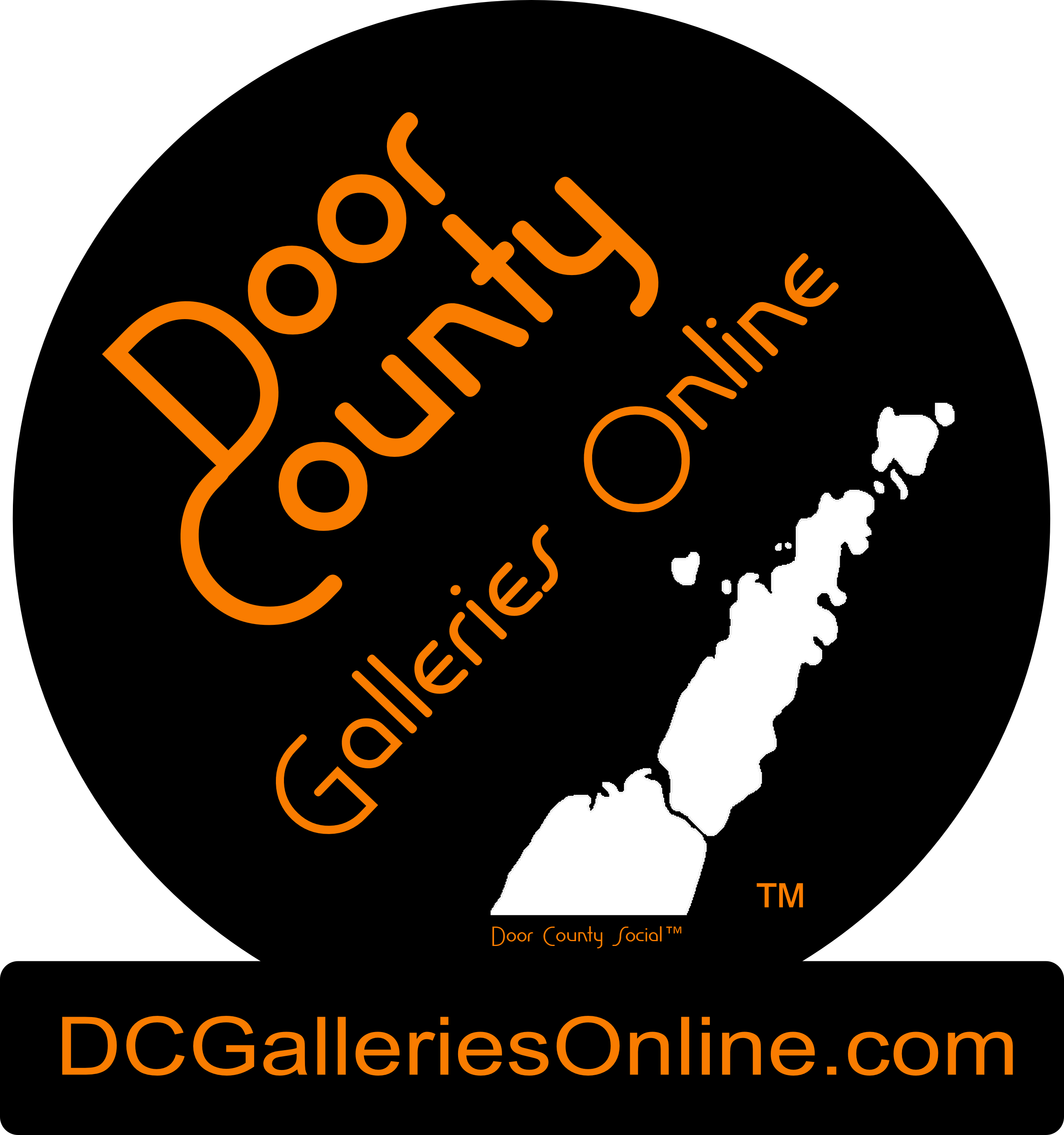 Door County Social Gallery Of Fine Art And Photography - Website